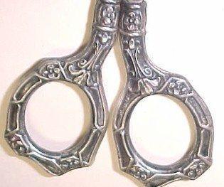 SterlingSewing Scissors  - Silver