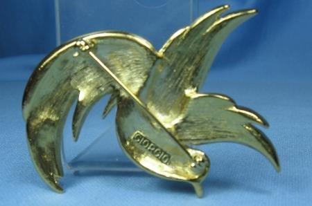 Jewelry  GIORGIO Perfume HUMMINGBIRD Brooch - Vintage Estate Jewelry