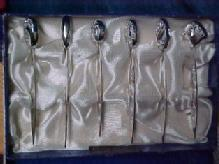 Hors D'oeuvres Sterling Set  6 - Silver