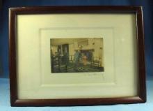Miniature Wallace Nutting Print - FAL