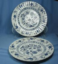 BLUE NORDIC Dinner Plate by Meakin - English Ironstone Porcelain Pottery