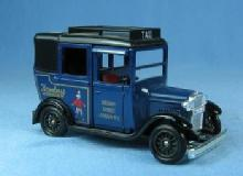 vintage Lledo Regent Street TAXI London - Die Cast Taxi  - Hamleys Finest Toy Shop Advertising