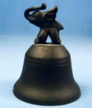 Brass ELEPHANT  Bell -Hotel  Vintage Metalware