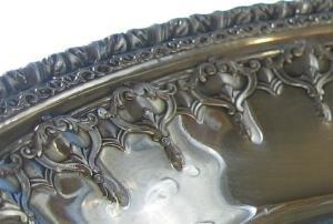 Reed & Barton  Silver Dish #1202 Riveria Pattern