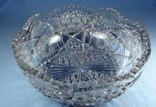 EAPG Pattern Glass Bowl - Early American Pattern Glass