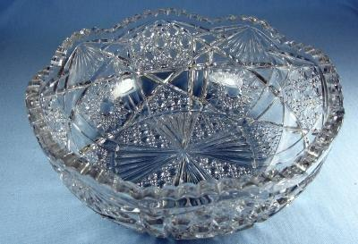 EAPG Pattern Glass Bowl - Early American Pattern Glass