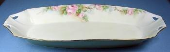 Royal Austria CELERY Dish - Hand Painted Antique Porcelain Relish Server