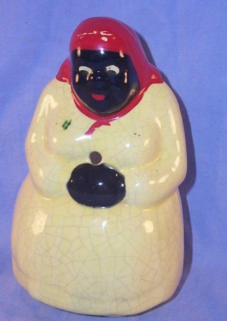 Occupied Japan MAMMY Porcelain Stringholder - Ethnographic