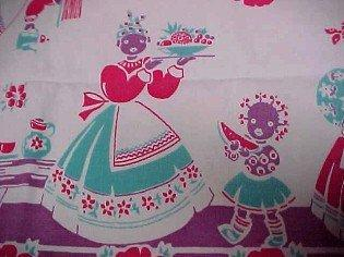 MAMMY Black  Table Cover - Textiles