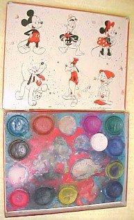 MICKEY DONALD Paint Tin Box- Toys