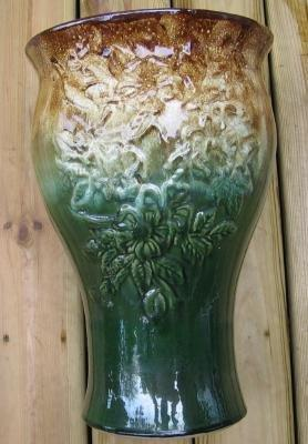 UMBRELLA Holder ~ Antique American Art Pottery