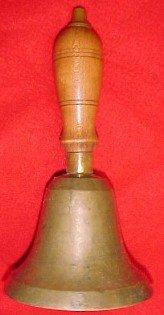 SCHOOL BELL Brass - Collectibles