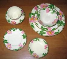 DESERT ROSE  7 piece Place Setting - Franciscan Pottery