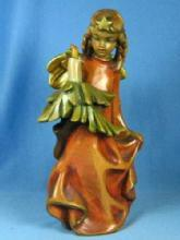 Anri Holiday ANGEL - Carved Wooden Collectible