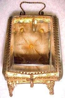 Watch Casket Case ORMOLU Beveled - Glass