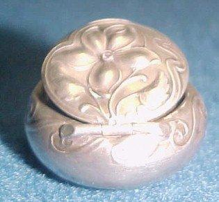 Sterling Pill Box  - Silver