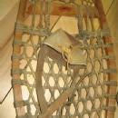 SNOW SHOES - Original Leather Bindings - Antique Vintage Sporting