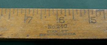 Stanley #240 EXTENSION RULE Ruler - Vintage Tool