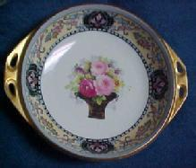 Noritake NIPPON Rose Basket Bowl - Porcelain/Fine China