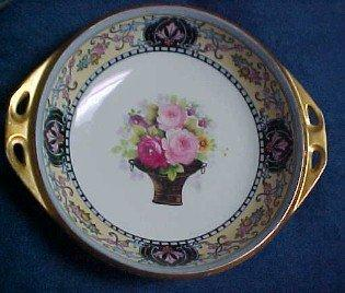 Noritake NIPPON Rose Basket Bowl - Porcelain/Fine China