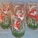 Seven DUCK Water Glasses - Sporting