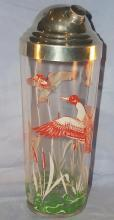 Glass DUCK Cocktail Shaker - Sporting