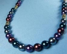 Jewelry  Marvella Bead Necklace - Vintage Mardi Gras Color Jewelry