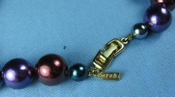 Jewelry  Marvella Bead Necklace - Vintage Mardi Gras Color Jewelry