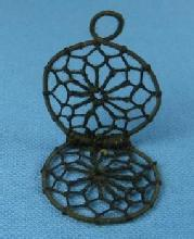 Jewelry  Antique Mourning HAIR Medallion - Jewelry