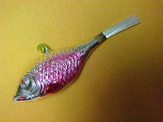 MERCURY Fish Christmas Figural - Glass