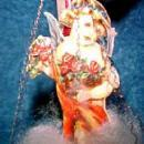 Angel Ornament Wire WrapCHRISTMAS  - Glass