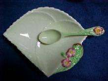 Carlton Ware BEGONIA Mint Dish - Porcelain/Fine China