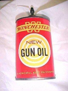 WINCHESTER Gun Oil Tin - Advertising