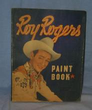 ROY ROGERS Paint Book - Toys