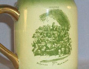 One Ridgways MR. PICKWICK AT THE ELECTION Porcelain Mug