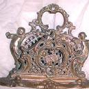 BRONZE Cupid Heart Letter Holder - Metalware