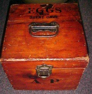 EGG CRATE Box Wooden  - Miscellaneous