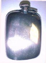 Sterling Flask Lady's - Silver