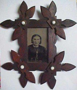 Native American SQUAW Frame - Photography