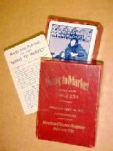 1916 Going To MARKET - Advertising