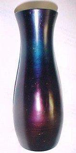 Loetz Iridescent Amethyst Art Glass Vase - Glass