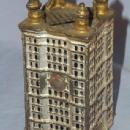 Cast Iron BANK BUILDING Bank - Toys