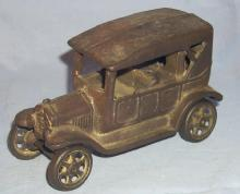 Ironart Cast Iron Toy Touring Car