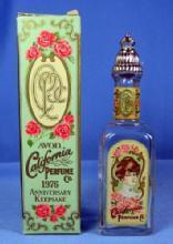 California Perfume BOTTLE Co 1976 Anniversary Keepsake Bottle