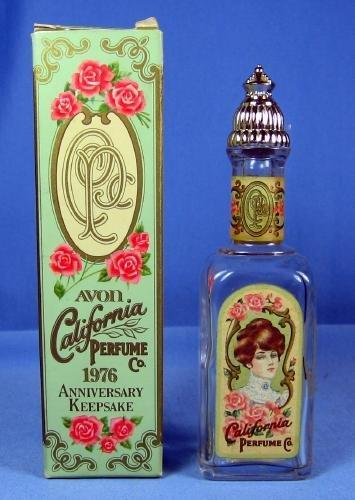 California Perfume BOTTLE Co 1976 Anniversary Keepsake Bottle