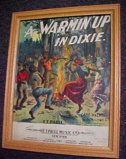 A WARMING' UP IN DIXIE - Black Paper