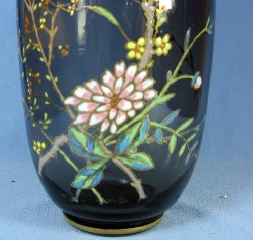 Moser Art Glass CIRE Decanter Vase  - antique Victorian