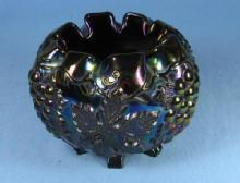 Dugan CARNIVAL GLASS GRAPE DELIGHT Amethyst Carnival Glass ROSE Bowl