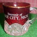 LAKE CITY MICHIGAN Souvenir cup - Glass