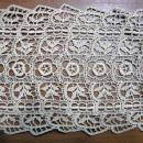 old Antique YOKE Collar and Bib Scarf - vintage tatting Sewing Textile